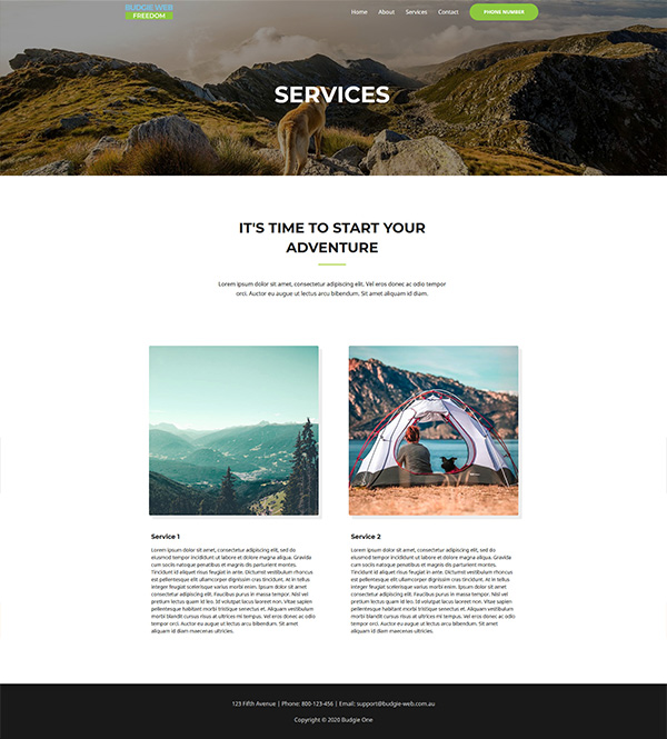 SERVICES PAGE - Freedom
