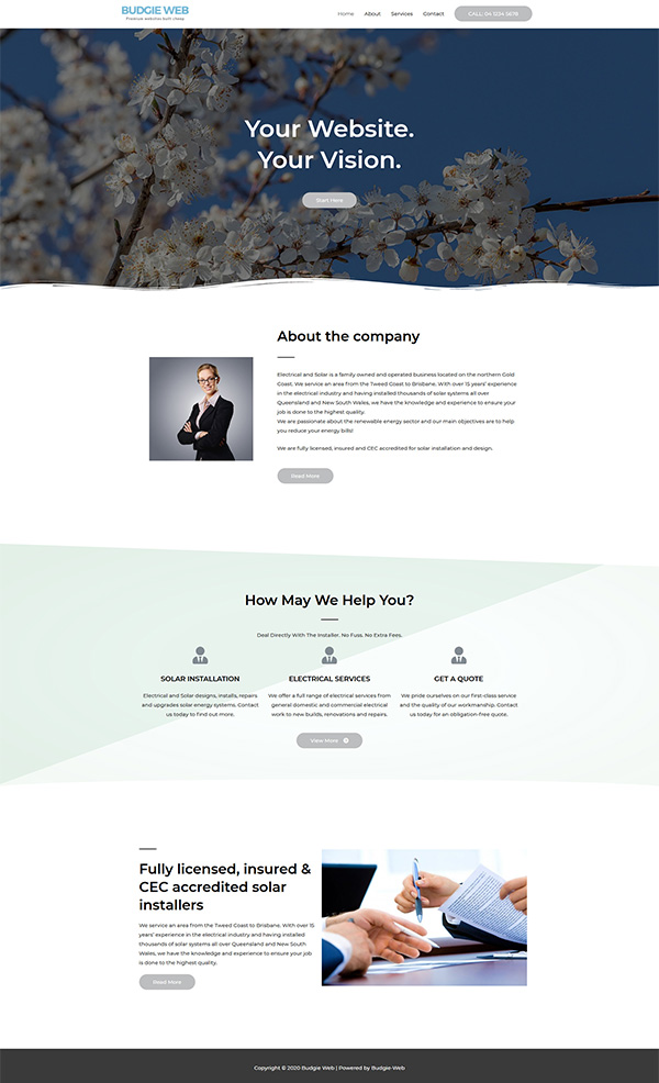 Your Website - Your Vision